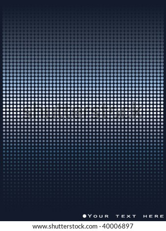 vector dots background