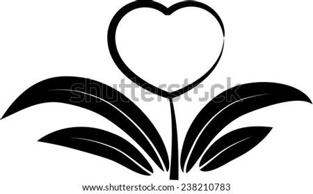Line Drawing Heart Shape : Vector drawing heart shape icon stock  shutterstock