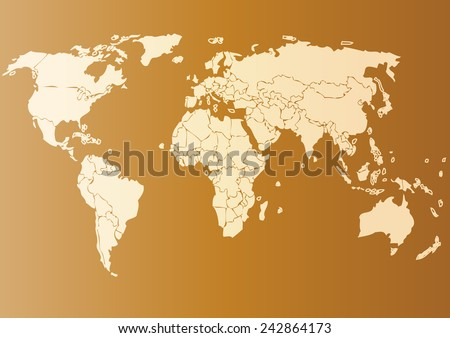 Vector drawing world map background text monochrome stock vector vector drawing world map for background and textmonochrome worldmap vector template for website gumiabroncs Image collections