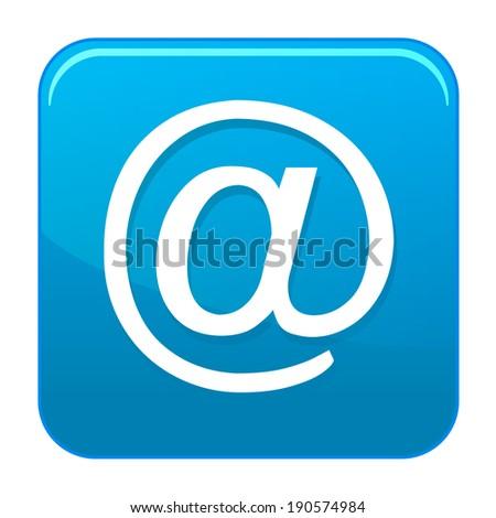 Vector e-mail icon - stock vector