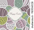 Vector Easter Seamless background - stock vector