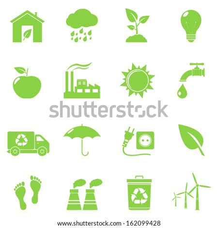 Vector Eco Icons