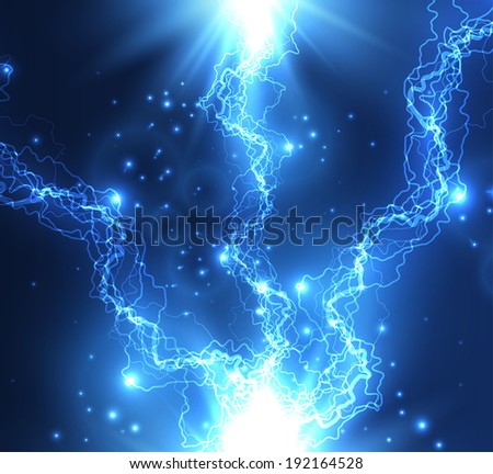 Vector electric background. EPS10 - stock vector