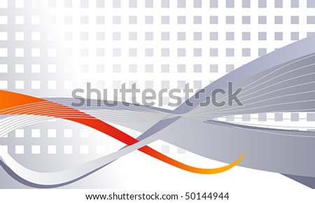 Vector elegant abstract business background - stock vector