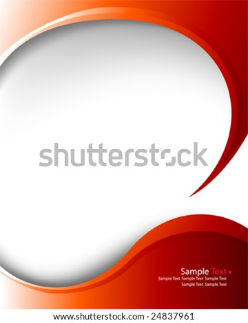 vector elegant layout - stock vector
