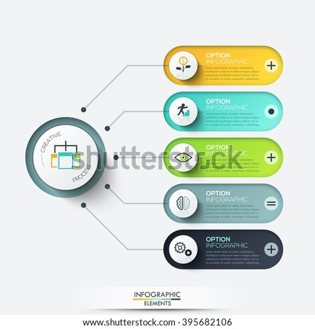Vetor stock de vector elements infographic template diagram graph template for diagram graph presentation and chart business ccuart Images