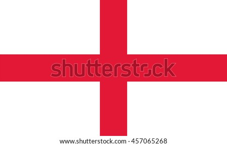 Vector England flag