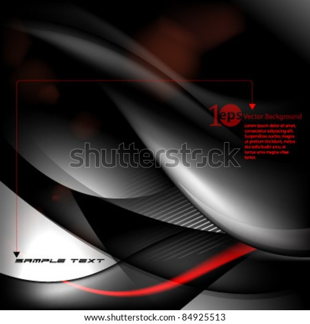 Vector- eps10 Abstract Background - stock vector