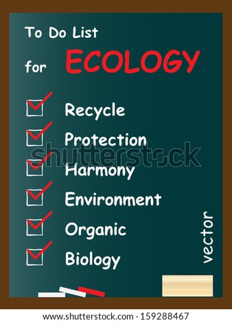 Vector eps concept or conceptual white chalk text blackboard word cloud,  tagcloud on green background,for nature,ecology,green,protection,climate,energy,natural,life,world,global,protect recycle