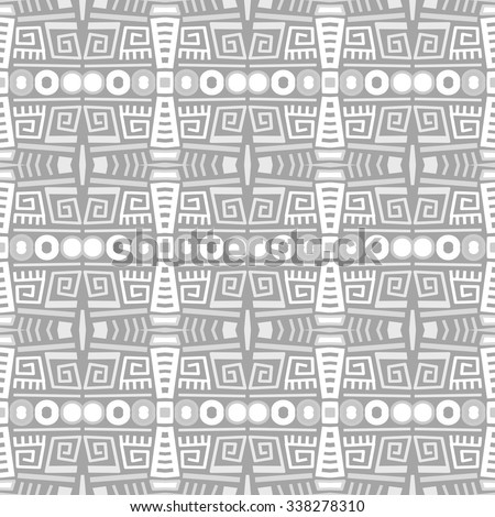 Vector ethnic pattern (seamless)