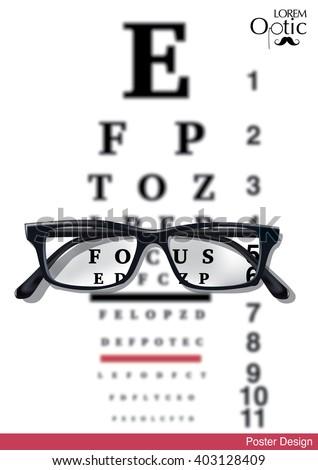 reading glasses test chart pdf