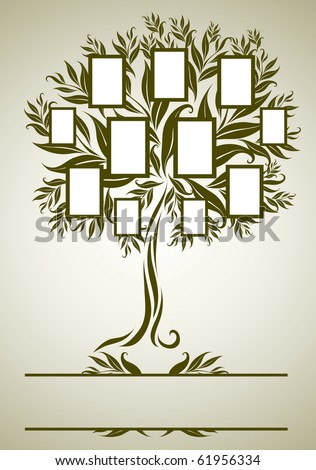 Family Tree Drawing Stock Images, Royalty-Free Images & Vectors ...
