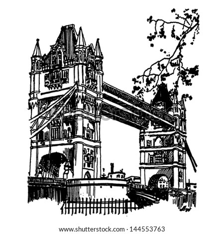 famous architectural buildings black and white. Vector Famous Monuments Of Architecture From Around The World. England Black And White Architectural Buildings S