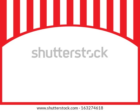 Vector Fast Food Theme Background with White Cover - stock vector
