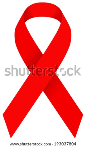 vector file of aids ribbon