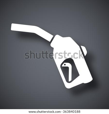 Vector filling gun icon - stock vector