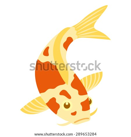 Koi fish cartoon stock photos images pictures for Koi fish vector