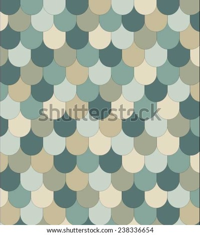 Vector fish scales pattern (Can be used as texture for cards, invitations, DIY projects, web sites or for any other design)  - stock vector