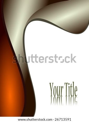 vector flag title - stock vector