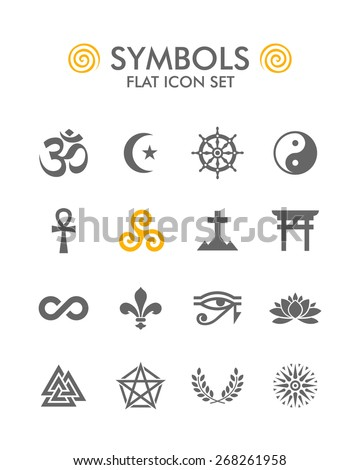 the setting and symbols in the