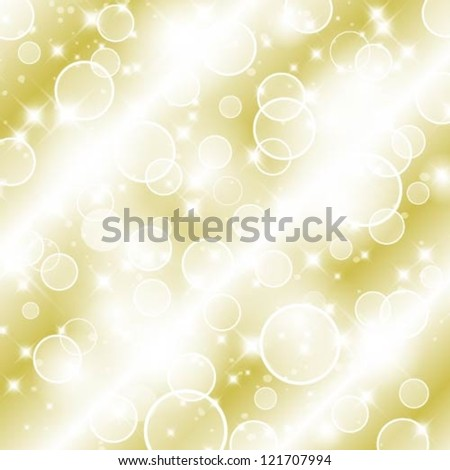 Vector flickering lights Holiday background. - stock vector