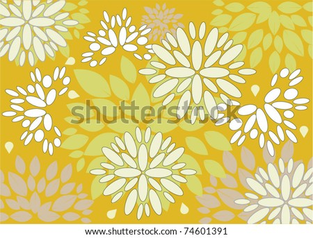 Vector floral pattern, eps 10