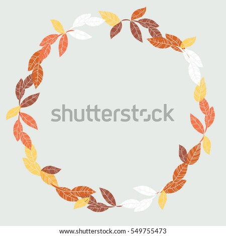 Vector Floral Round Frame Fabric Cloth Stock Vector 549755473 ...