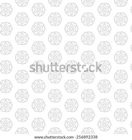 Vector floral seamless pattern. - stock vector