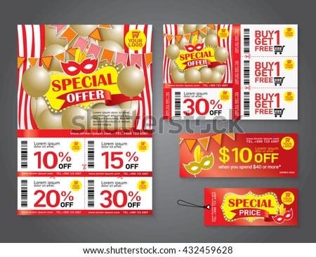 Sale Flyer Photos RoyaltyFree Images Vectors Shutterstock – Coupon Flyer Template