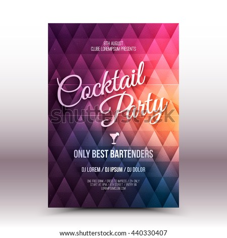 Cocktail Party Invitation Images RoyaltyFree Images – Cocktail Party Invitation Template