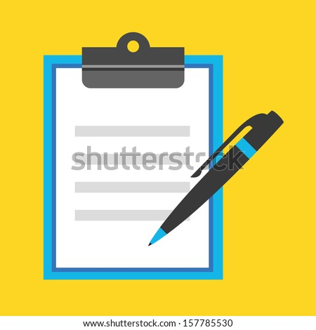 Vector Form Icon Stock Vector 160207616 - Shutterstock