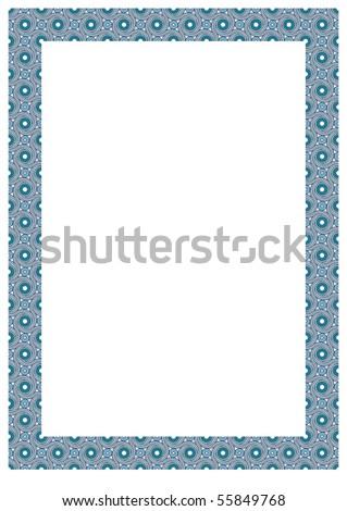 Vector frame. - stock vector