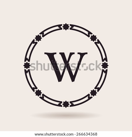 Vector frame design emblems. Vintage labels and badges for logos quality - stock vector