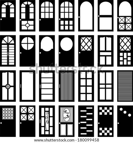 room doors vector art - photo #34