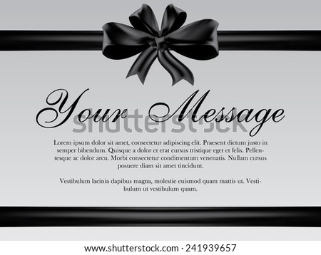 Funeral Card Photos RoyaltyFree Images and Vectors – Funeral Invitation Card