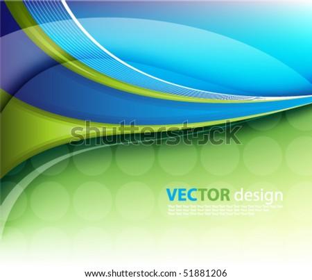 vector futuristic background - stock vector