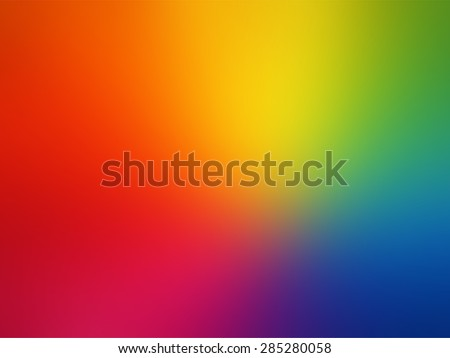 Vector - Gay rainbow gradient mesh blur background - stock vector