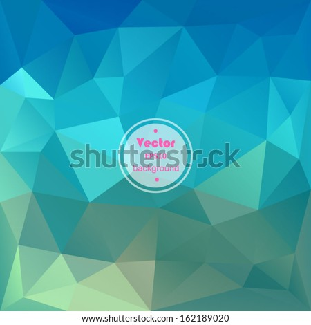 Vector geometric pattern with geometric shapes, rhombus. That square design has the ability to be repeated or tiled without visible seams. EPS10. - stock vector