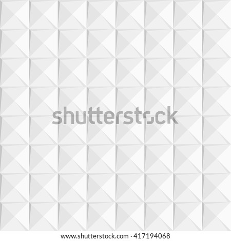 vector geometric seamless pattern of squares and triangles - stock vector