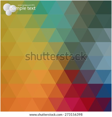 Vector geometric shapes. Colorful  background. Texture for use in the design of brochures, booklets, banners and others.