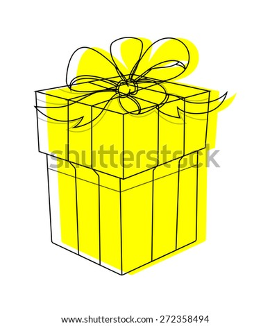 Santa claus gift box stock vector 244234852 shutterstock vector gift box clipart negle Image collections