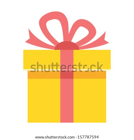 Vector Gift Icon - stock vector