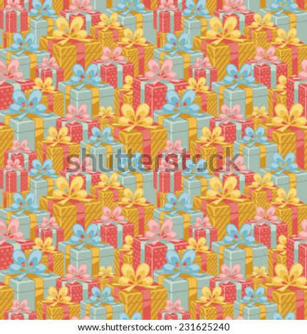 Vector_gift_pattern - stock vector