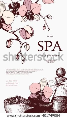 Vector Gift Voucher Design Hand Drawn Stock Vector 401749114 - Shutterstock