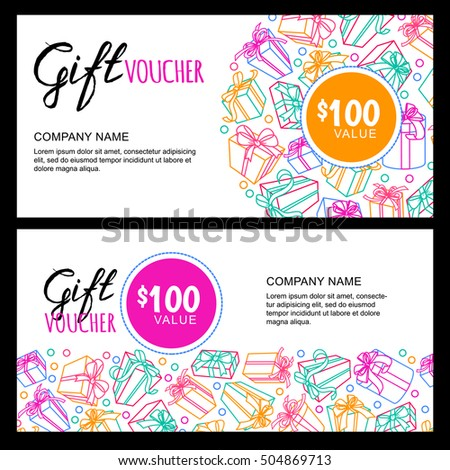 coupon outline template
