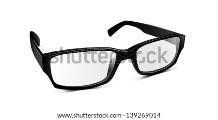 Vector Glasses - stock vector