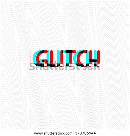 Vector glitch background. Digital image data distortion. Corrupted image vector file. Cyan and magenta abstract background for your designs. Chaos aesthetics of signal error. Digital decay. - stock vector
