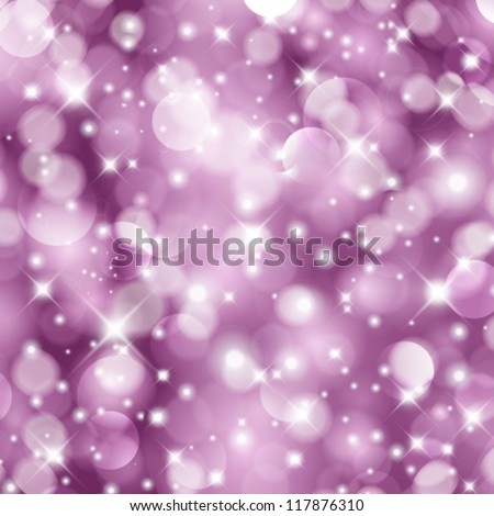 Vector glittery Christmas background. - stock vector