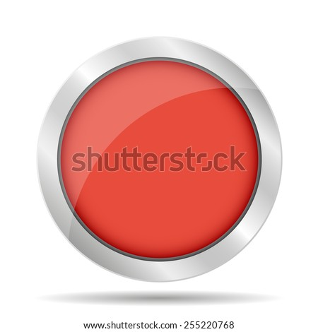 Vector glossy buttons. Vector Illustrator EPS 10 - stock vector