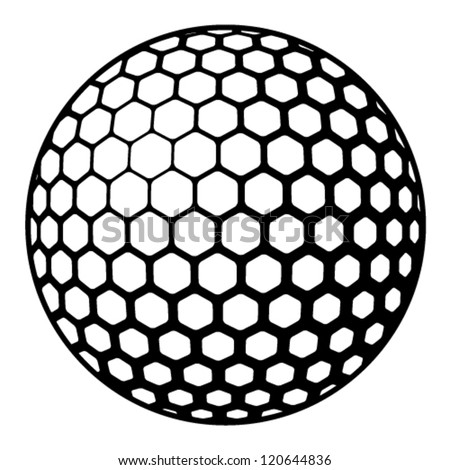 golf ball clip art vector awesome graphic library